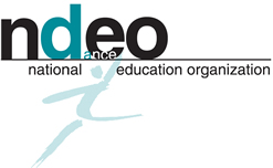 NDEO_logo_with_watermark_dancer_SMALL